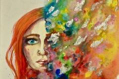 "Mental Health & Creativity Award ""My Beautiful Mind"" By Laurine"