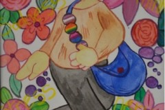 """Pride in Diversity Highly Commended """"Self Portrait"""" By Sarah Gill"""