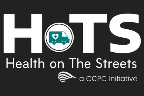Health on The Streets. A CCPC Initiative.