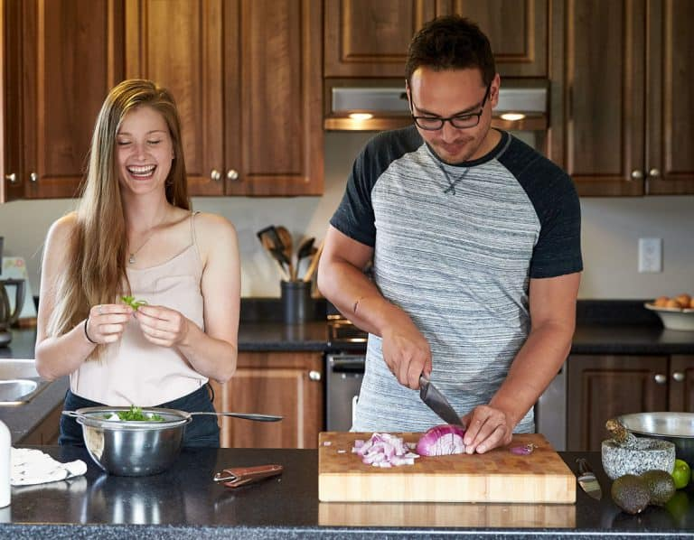 NDIS Core Supports - couple cooking