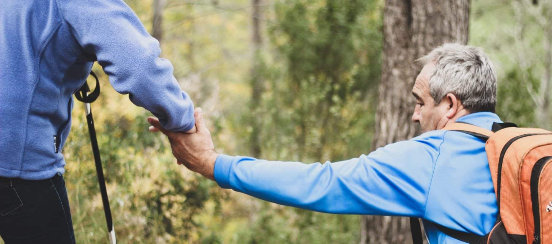 NDIS Social Activities - couple hiking
