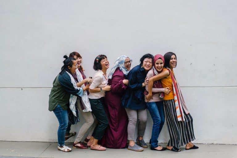 cervical screening clinics - women having fun