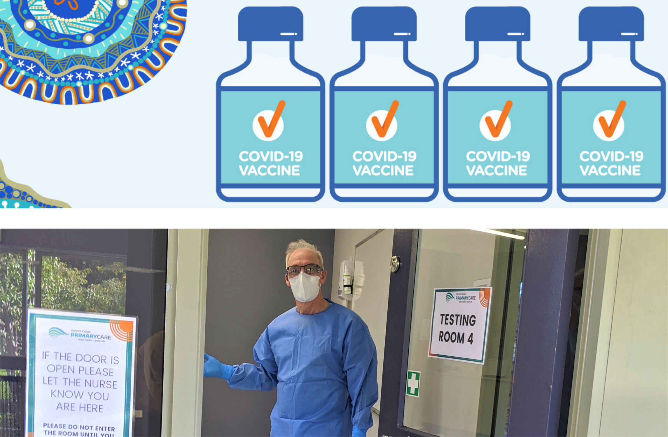 Home Page Image - COVID Vaccination & Testing Clinic
